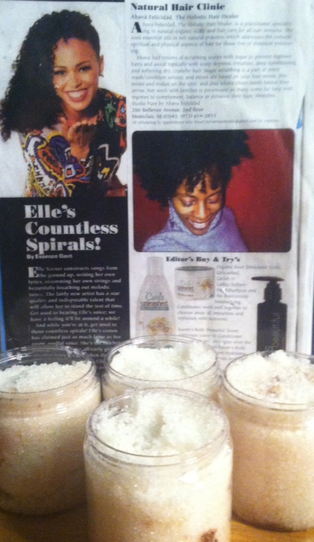 Ahava Felicidad in Hype Hair Magazine