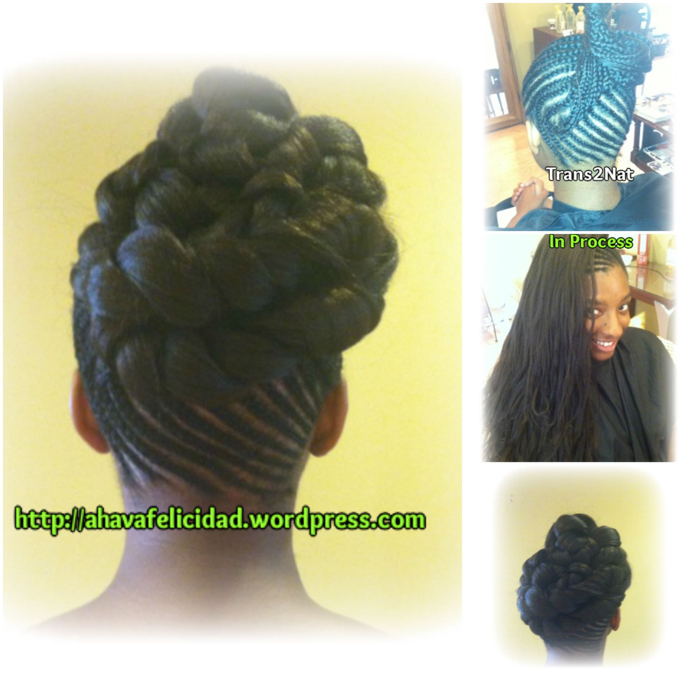 Crochet Hair Styles For Work : ... of her hair styles and hair healing sessions with her natural hair